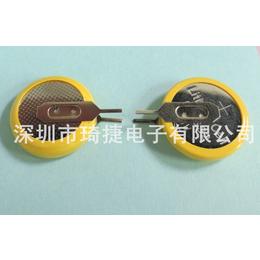 CR1632纽扣电池批发可引线引插脚