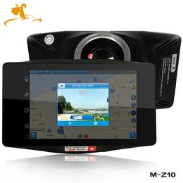 地狗V镜M-Z10智能后视镜行车记录仪 智能声控 电子狗