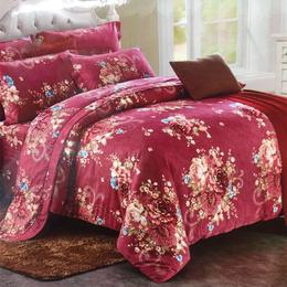 爱心布艺家纺-花案家用秋冬棉被销售