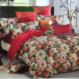 爱心布艺家纺-花式图案棉被销售