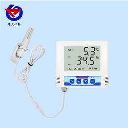 温湿度变送记录仪内置电池 医疗冷库温湿度监测