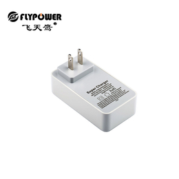 5V4A 多口USB充电器 灰白色