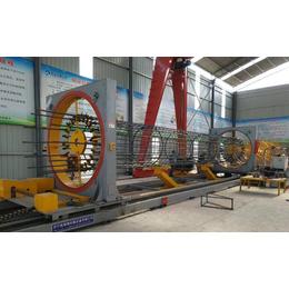供应亚博国际版 数控钢筋笼滚焊机 钢筋笼成型机 钢筋滚笼机