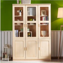 簡約現代書櫥簡易書架儲物柜