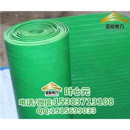 定做绿色条纹防滑胶垫 厂家直销