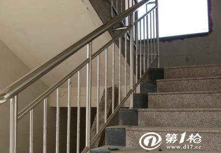不锈钢楼梯扶手生锈的原因以及处理方法