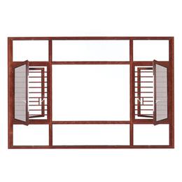 广东盛世莱断桥窗纱一体001