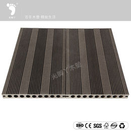 高密度适用范围广坚固耐用木塑地板