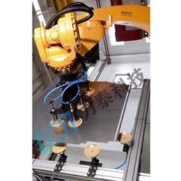 折弯机械手上下料 <em>力</em>泰科技<em>电</em>液数控折弯机器人设备