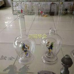500ml耐热玻璃鸡酒瓶内置12生肖内套双层鸡玻璃酒瓶缩略图