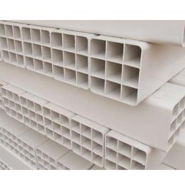 专业生产销售四孔六孔九孔PVC 格栅管