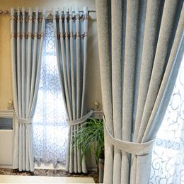 简约现代客厅大气窗帘
