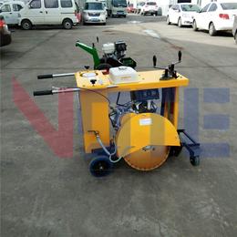 路面圆形井盖切割机 汽油小型井盖切圆机