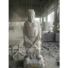 人物雕刻厂家制作水浒传一百零八将花岗岩人物雕塑