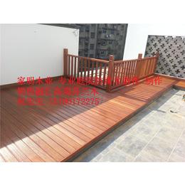 防腐木地板系列