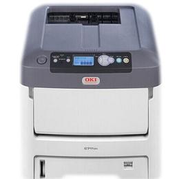低价风暴OKIC711n彩色激光打印机  OKI711打印机