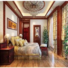 轩源红木室内装饰精致工艺样板房
