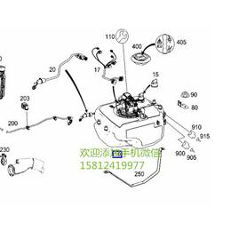 奔驰GL350尿素箱尿素预热器
