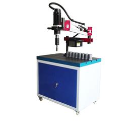 数控套丝机1.2米按键垂直伺服攻丝机
