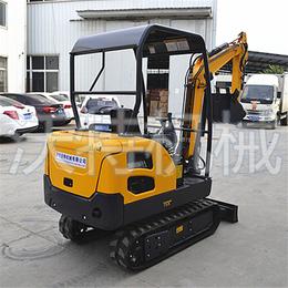 黑龙江可靠农用挖掘机 汽油式路面小型挖掘机