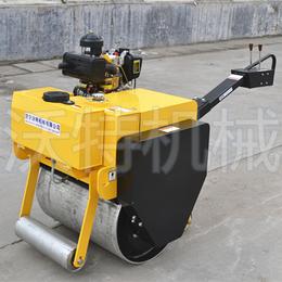 驾驶式小型振动手扶压路机 辽宁热售手推式轧道机