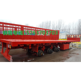 平板车13米拖车直板拖卡挂板车