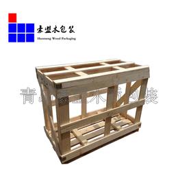 青岛包装箱 欢迎订购出口免检木箱 实木包装箱