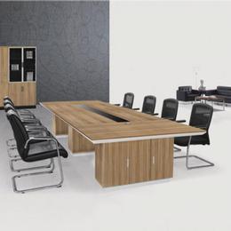 上海办公家具厂家直销 炫辞新款板式会议桌  圆型办公会议桌