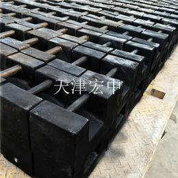 成都25kg_25公斤搅拌站配重砝码_铸铁砝码