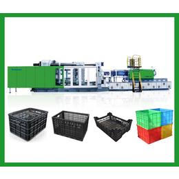 塑料水果筐机器  黑色塑料筐设备 筐子注塑机厂家