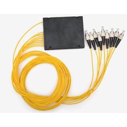 盒式分光器尾纤式光分路器FC1分8圆头电信级