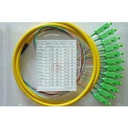 广电专用SC APC12芯束状尾纤 束状跳线光纤跳线尾纤