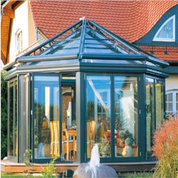 八角亭阳光房 欧式玻璃阳光房图片
