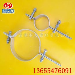 电力抱箍  光缆抱箍ADSS电力金具供应商厂家