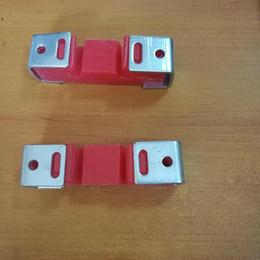 红色减震器 墙体龙骨配件减震器 隔音减震器 硅胶减震器