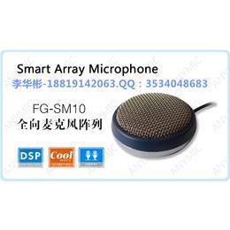 飞歌FG-SM10智能阵列麦克风一键多级降噪语音拾音器