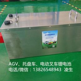 电动叉车锂电池 厂家供应电动叉车电瓶AGV电瓶托盘车电瓶