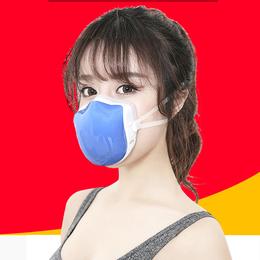 电动送风防雾霾口罩 电动智能活性炭男女儿童通用口罩