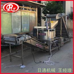 燃气加热油炸机 土豆条不锈钢油炸机 电加热油炸炉