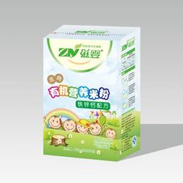 婴儿辅食 钙铁锌有机营养米粉