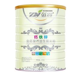 滋婴金胚营养钙铁锌益生菌米粉