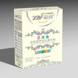 滋婴金胚营养三文鱼益生菌米粉盒装