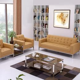 办公家具办公沙发简约现代茶几组合休闲商务沙发办公室接待会缩略图