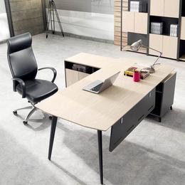 时尚办公家具老板桌大班台主管桌行政办公桌椅书柜简约现代