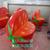 玻璃钢西红柿凳树脂圣女果椅子番茄凳子幼儿园卡通水果椅凳雕塑缩略图1