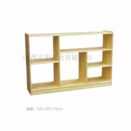 幼儿园玩具柜 实木玩具柜