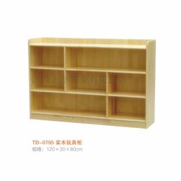 幼儿园实木玩具柜生产厂家
