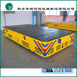 喷漆房用电动平板车厂商 蓄电池供电无轨胶轮平车综合实力强