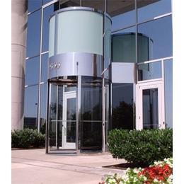 张家港旋转门_金亿设计定制制造两翼三翼环柱酒店大门_质量可靠