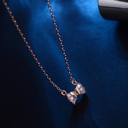 蝴蝶锁骨项链 小巧甜美女式饰品 饰品制造商工厂